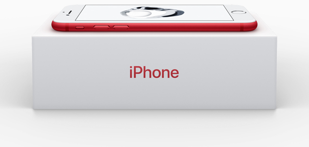 Apple представляет iPhone 7 и iPhone 7 Plus (PRODUCT)RED Special Edition